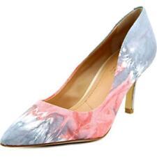 Zapatos de tacón de mujer de tacón alto (más que 7,5 cm) de color principal rosa de piel