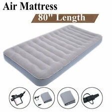 Camping Mattress Air Sleeping Inflatable Airbed Quickbed Single W/ Electric Pump