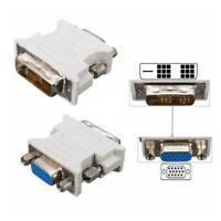 15-polige VGA-Buchse auf 24 + 1-poligen DVI-D-Adapter-Konverter für PC-Lapt X6F0