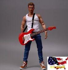 1/6 classic electric guitar Michael Jackson music instrument hot toys ❶USA❶