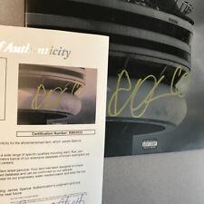 "Drake Signed ""Views"" Vinyl Album Record autograph with JSA authentication"
