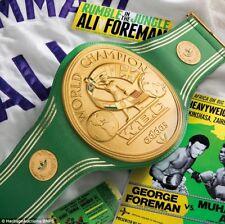 WBC Muhammad Ali World Championship Title Belt for Adults