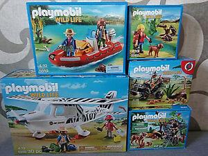 Playmobil Wild Life - Various Set's for Selection - Nip
