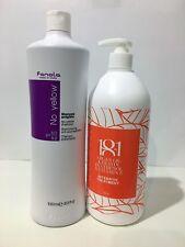 FANOLA No YELLOW Shampoo 1000ml.WITH  PUMP + 18.1 Intensive Treatment 1Ltr
