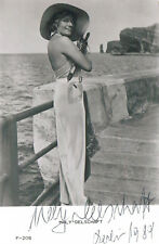 """Maly Delschaft 1898-1995 genuine autograph signed 3.5""""x5.5"""" photo"""