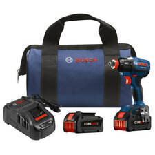 Bosch IDH182-B24 18-Volt 1/4-Inch - 1/2-Inch Impact Driver Kit w/ Core Batteries