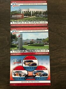 Lot of 3 Racing Cards--2008 Wheels American Thunder (Hendrick, Roush Fenway)