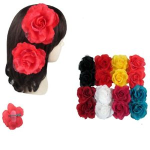 12pcs Flower Hairpin Bridal Hair Clip Rose Flower Wedding Party Accessory Lot