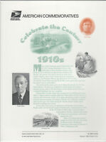 SSS: USPS 1998  Commemorative Panel #533B  Celebrate the Century 1910s  Sc #3183