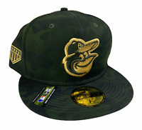 Baltimore Orioles New Era 59FIFTY MLB Mens Armed Forces Day Fitted Hat Six 7 7/8