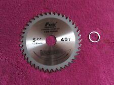 """125mm 5"""" inch 40T TUNGSTEN Circular Cutting Saw Blade for cutting Wood, Plastic"""