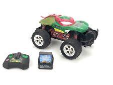 Teenage Mutant Ninja Turtles Raphael Monster Jam Truck RC Tyco Mattel 2003 Works