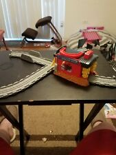 Thomas & Friends Take-n-Play Sodor Engine Wash incomplete