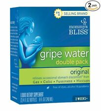 Agua Gripe Para Bebés Gases Cólicos Hipo Irritabilidad Natural Mommy's Bliss