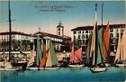 CPA Nice - Le Port et l'Église - Bateaux de Plaisance (351307)
