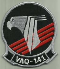"VAQ 141 US.NAVY PATCH 4 1/4"" EA18G Growler AIRCRAFT ELECTRONIC ATTACK SQ ATSUGI"