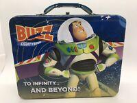 Toy Story Buzz Lightyear Metal Lunchbox Disney Pixar To Infinity Tin Box Co 2010