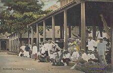 TAHITI MARCHE PAPEETE