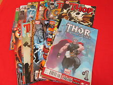 BACKSTOCK BLOW OUT - THOR LOT OF 25 ALL DIFFERENT COMICS