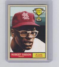Bob Gibson 1959 St Louis Cardinals Rookie Stars series #15 by Monarch Corona