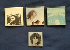 True Vintage Lot of 4 The Doors Jim Morrison Pins Buttons