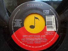 THE GEORGIA SATELLITES~ Hippy Hippy Shake~ 45's record ROCK 1988  VG++ or better