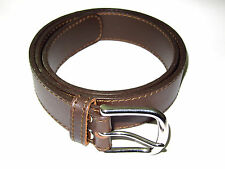 """Saddleback Leather 1.5 """" Damen Gürtel Größe S M Dunkel Kaffee Braun Gsb"""