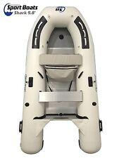 Inflatable Sport Boats Shark 9.8 ft Aluminum Floor w/ seat bag Dinghy
