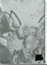 Mars Attacks Invasion Printing Plate Chase Card #80 Black
