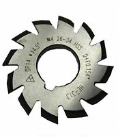 RDGTOOLS INVOLUTE VARIOUS DP GEAR CUTTERS ALL VARIATIONS SIZES TO CUT ALL TEETH