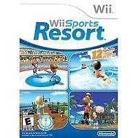 Nintendo Wii : Wii Sports Resort Video Game CIB