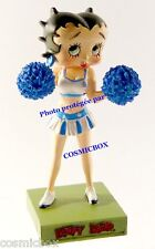 Figurine BETTY BOOP résine POMPOM GIRL majorette pin up figure figurina figuren