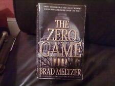 The Zero Game-Brad Meltzer Paperback English Genre Fiction None Hodder 2004