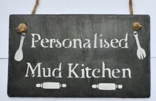 Mud Kitchen Personalised Mud Kitchen Sign Kids Sign Children Christmas Gift Xmas