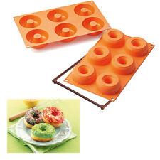 ✔ Muffin - & Gebäckform Backform DONATS 6er Form Silikomart