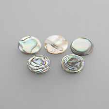 Real Pearl Flat Oval 8 x 6 mm (Image by round) / Box 4