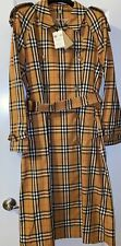 Burberry Antique Yellow Trench Coat 12 US. Compare $2390