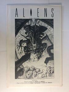 Aliens Portfolio Dark Horse Comics complete 1988 with ASH CAN sealed