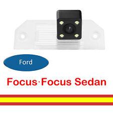 Camara vision trasera para Ford Focus Sedan Integrada en luz matricula