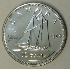 1984 Canada Proof-Like 10 Cents