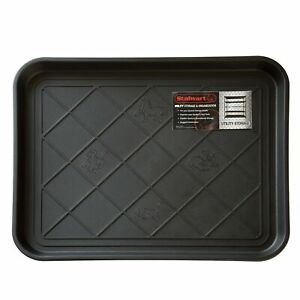 Stalwart 75-ST6013 All Weather Boot Tray – Water Resistant Plastic Utility Sh...
