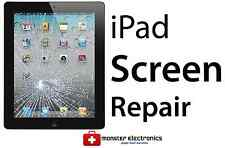 iPad 2 3 4 Mini CRACKED GLASS DIGITIZER TOUCH SCREEN REPAIR REPLACEMENT SERVICE