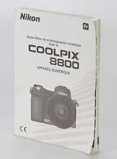 Nikon Coolpix 8800 Quide en Français (Réf#D-072)