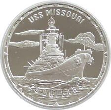 2005 Legendary Fighting Ships USS Missouri $25 Dollar Silver Proof 1oz Coin