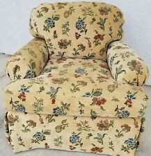 Lovely C R LAINE Upholstered Armchair Club Accent Chair Very Comfortable!