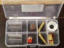 """10pc Pyrex TIG Torch Cup Gas Saver kit for BOTH 0.040"""" & 3/32"""" Torch WP17 18 26"""