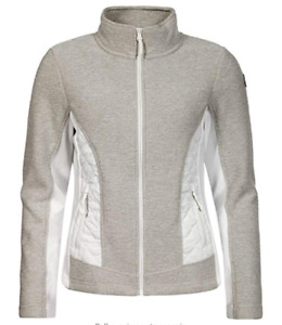 Icepeak Womens  Thermal Mid Layer Jacket Beige / White Size UK 18 / 38 -39' Bust