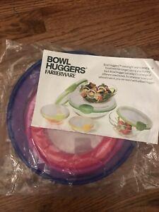 Farberware Set Of 5 Bowl Huggers Food Saver Lids