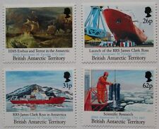 "Maiden voyage of ""James Clark Ross"" ship stamps, 1991, SG ref: 200-203, MNH"
