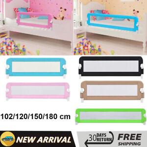 Kids Bed Guard Toddler Safety Children Side Barrier Folding Bed Rail Cot Beds